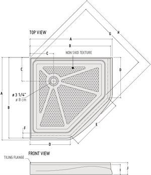 neo angle base dimensions