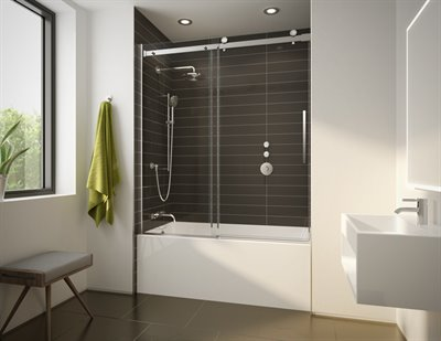 Novara Plus Tub Enclosure, 66 H