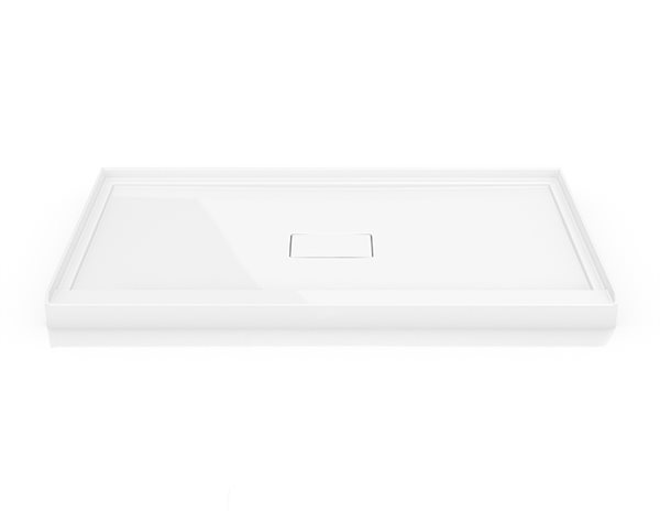 Fleurco Base Adt Acylic In Line Concealed Center Drain