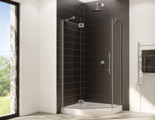 Fleurco portes de douche select porte n o angle - Porte douche neo ...