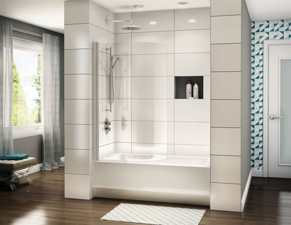 Siena Solo Curved Tub Panel BN