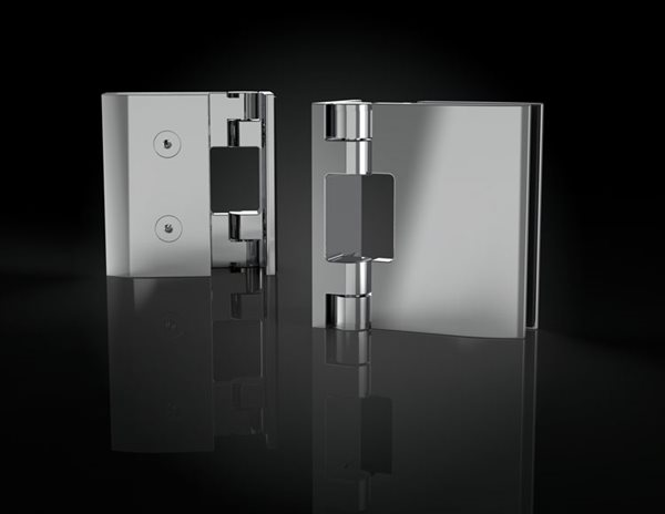 Rectangular wallmount hinges