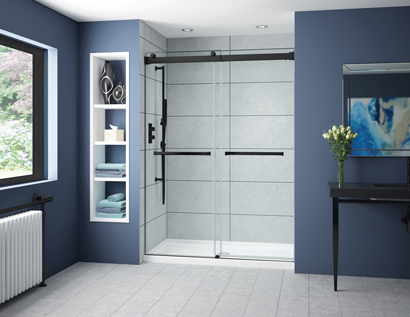 How to Measure an Opening for your In-line Glass Shower Door