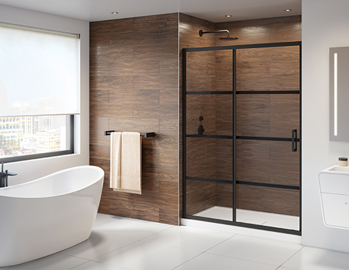 Latitude In-line Sliding Shower Door