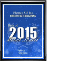 Fleurco-US Inc receives 2015 Best of Mount Laurel Award