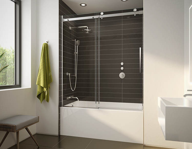 novara plus tub door